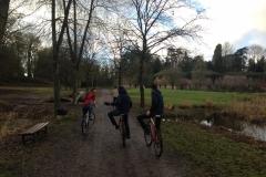 Une sortie à vélo